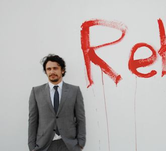 James Franco au musée d'art contemporain de Los Angeles