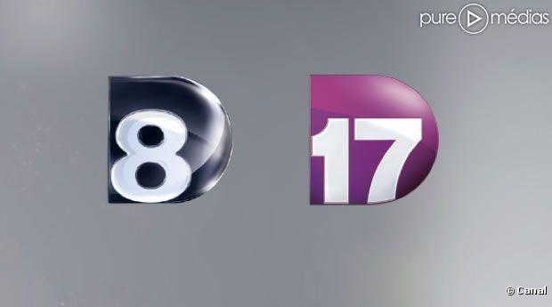 Les logos de D8 et D17