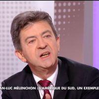 Zapping : Échange houleux entre J-L. Mélenchon et Renaud Dély sur Arte