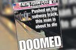 """La Une du """"New York Post"""" vivement critiquée sur les réseaux sociaux"""