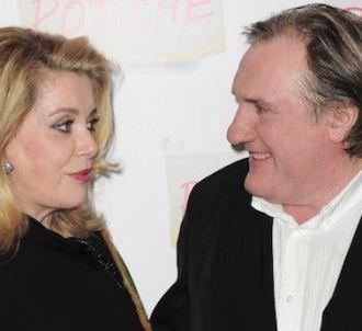 Catherine Deneuve vole à la rescousse de Gérard Depardieu