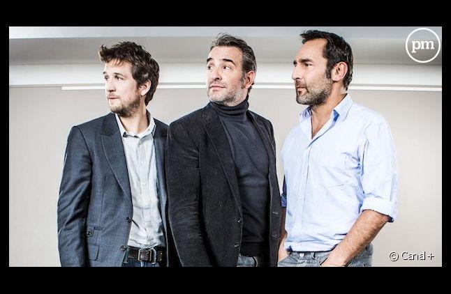 """Guillaume Canet, Jean Dujardin et Gilles Lellouche dans """"Le débarquement"""" sur Canal+"""