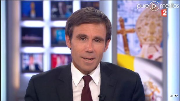 David Pujadas hier sur France 2