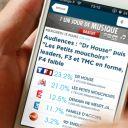 """La nouvelle appli """"PureMédias"""" sur iPhone."""