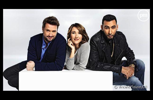 """Philippe Gandilhon, Alexia Laroche-Joubert et La Fouine sont le jury de """"Popstars 2013"""""""