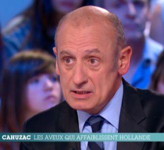 Jean-Michel Aphatie régait aux aveux de Jérôme Cahuzac.