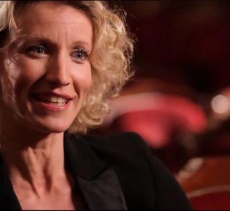 Alexandra Lamy, dans 'Sept à huit' sur TF1 le 12 mai 2013.