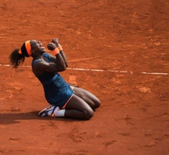 Serena Williams a emporté son deuxième titre à Roland...