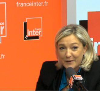 Marine Le Pen au micro de Patrick Cohen ce matin sur...