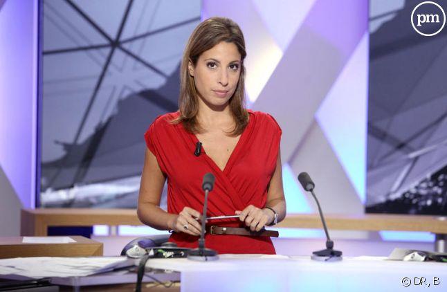 Léa Salamé, journaliste pour i-Télé.