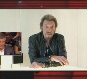 Johnny Hallyday rend hommage à Nagui et 'Taratata'