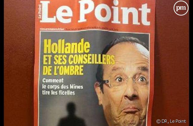 """Greenpeace détourne une couverture du """"Point"""""""