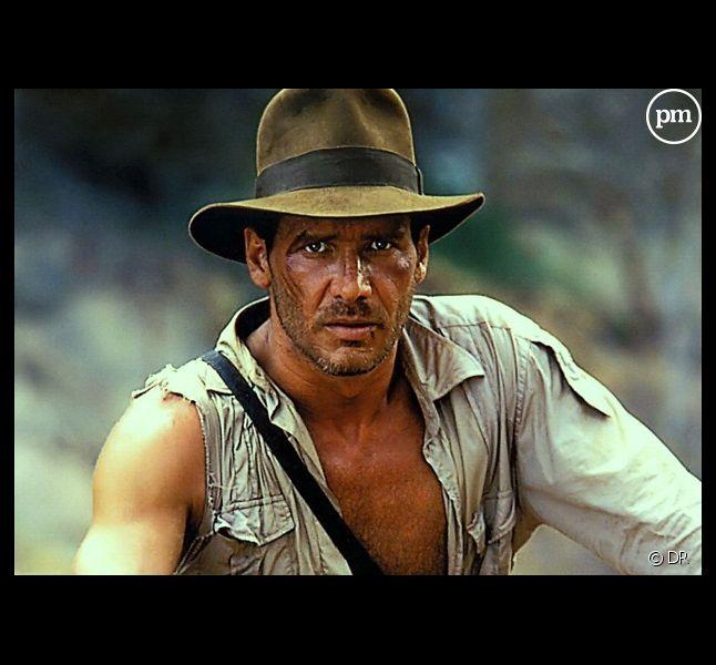 """Harrison Ford dans """"Indiana Jones et le Temple maudit"""" (1984)"""