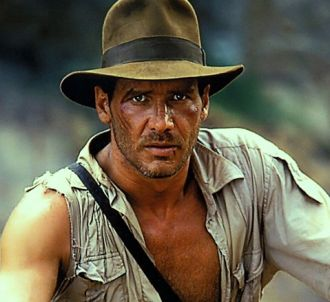 Harrison Ford dans 'Indiana Jones et le Temple maudit'...