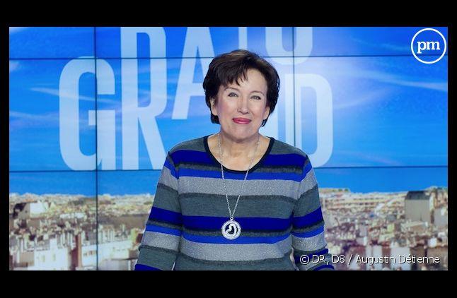 Roselyne Bachelot a dénoncé aujourd'hui le machisme à la télévision