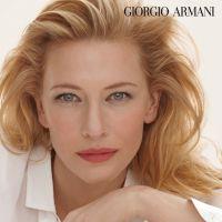 Cate Blanchett, égérie Armani pour 10 millions de dollars