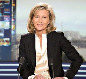 Claire Chazal au JT de TF1