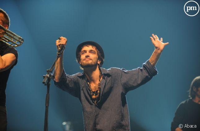 Le chanteur Soan, en 2010.