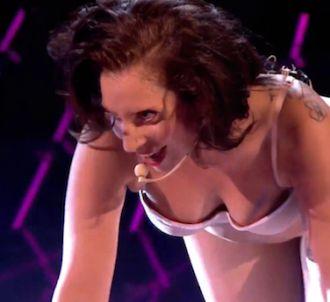 Lady Gaga a proposé une prestation étrange sur le plateau...