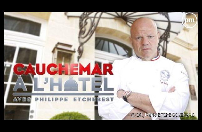 """Philippe Etchebest dans """"Cauchemar à l'hôtel"""""""