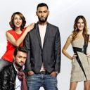 "Le jury de ""Popstars 2013"" et Mareva Galanter"