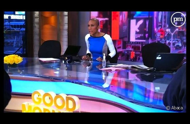 "Robin Roberts, co-présentarice de ""Good morning America""."