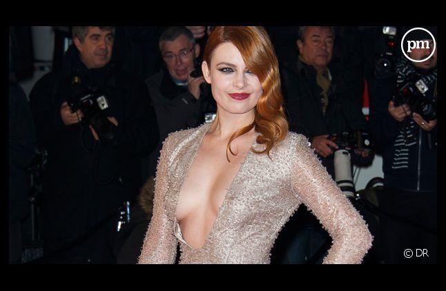 """Elodie Frégé, aux """"NRJ Music Awards"""" en décembre 2013."""