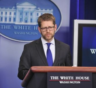 Jay Carney, porte parole de la Maison Blanche, s'est dit...