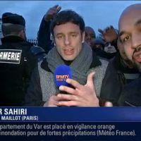 Un journaliste de BFMTV chahuté par des chauffeurs de taxi