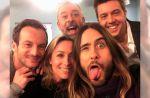 """""""C à vous"""" fait son selfie avec Jared Leto"""