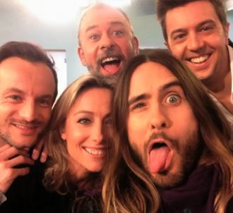 Le selfie de 'C à vous' avec Jared Leto.