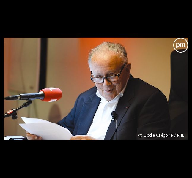 """Philippe Bouvard quitte les """"Grosses têtes"""" après 37 ans de bons et loyaux services."""