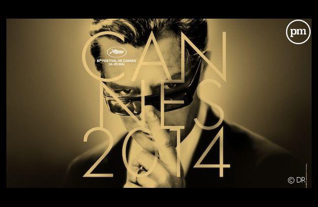 L'affiche du 67e Festival de Cannes rend hommage à Marcello Mastroianni