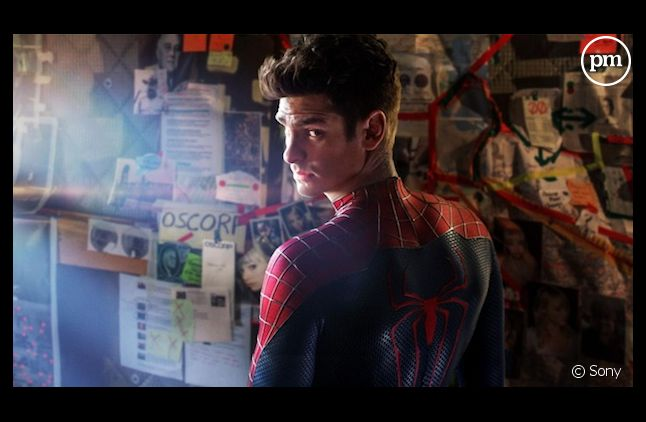 "Andrew Garfield dans ""The Amazing Spider-Man 2"""