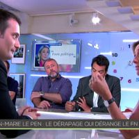 Propos de Jean-Marie Le Pen : Echange tendu entre Anne-Sophie Lapix et Florian Philippot