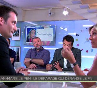 ANne-Sophie Lapix, sur France 5.