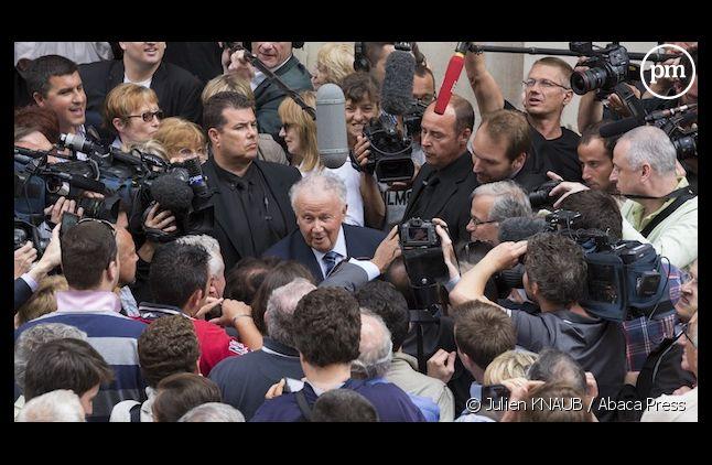 """<p class=""""p1"""">Philippe Bouvard, hier à Paris, après ses dernières """"Grosses Tête"""" </p>"""