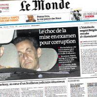 Mise en examen de Nicolas Sarkozy :