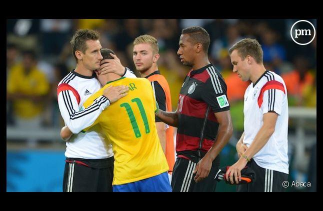 La Seleçao corrigée par la Mannschaft (7-1) en demi-finale de la Coupe du monde 2014.