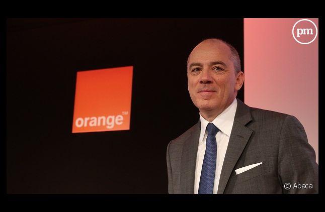Stéphane Richard, le PDG d'Orange