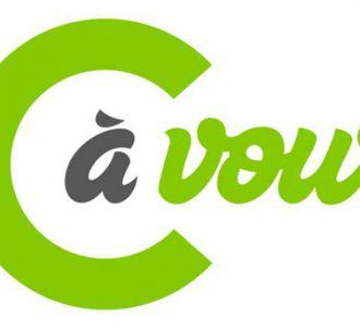 Le nouveau logo de 'C à vous', sur France 5.