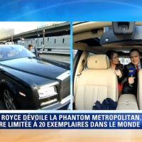 Quand les journalistes de la matinale de BFMTV partent en Rolls Royce en direct !