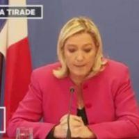 Le coup de com' : La conférence de presse de Marine Le Pen sur la sécurité