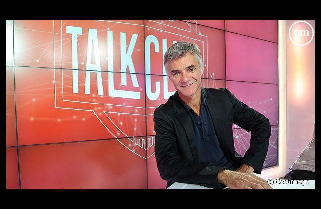 """Cyril Viguier sur le plateau de """"Talk Club"""""""