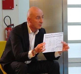 François Lenglet présente 'L'Angle éco' sur France 2