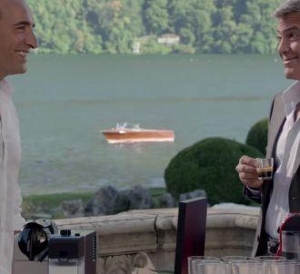 Jean Dujardin rejoint George Clooney dans la pub Nespresso