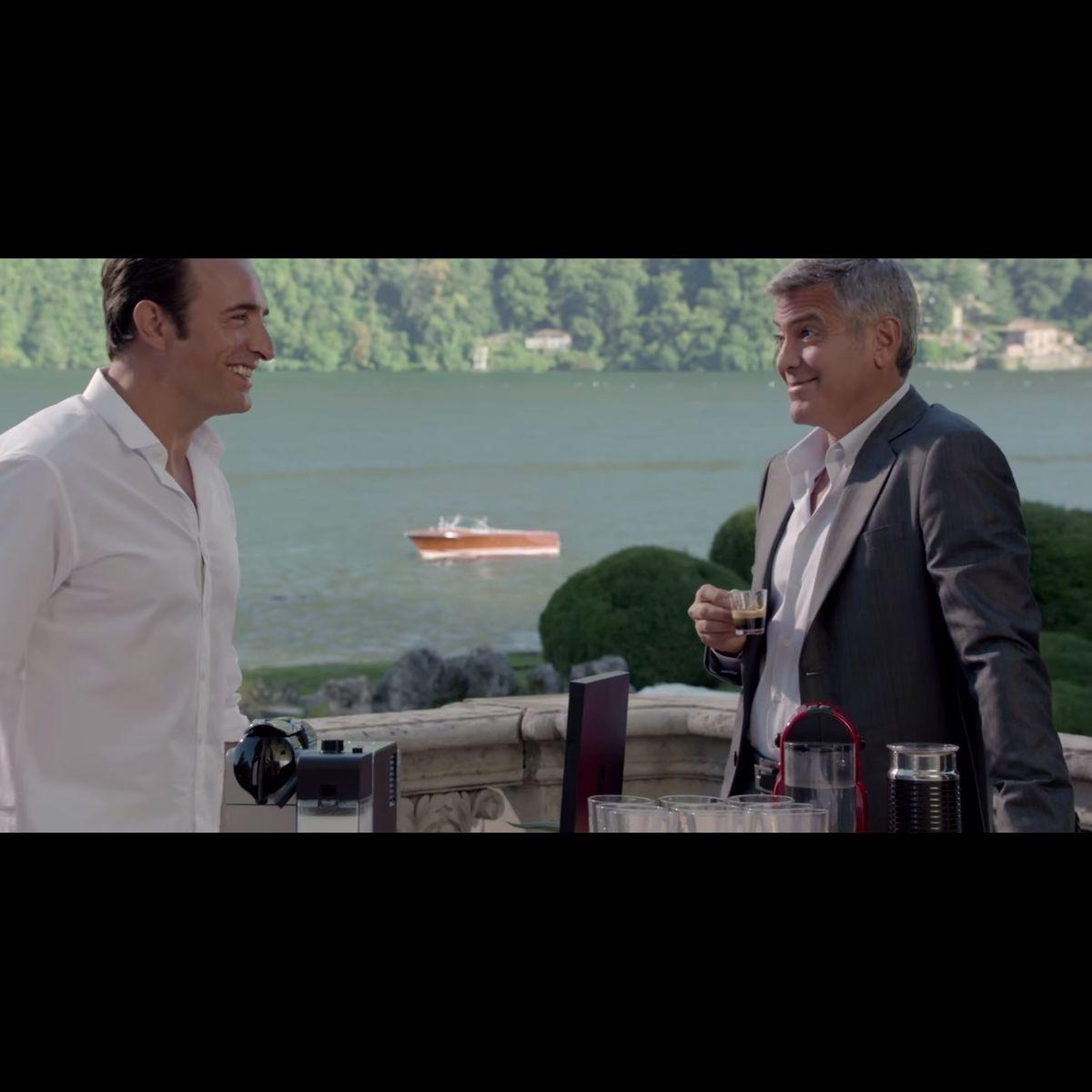 Jean dujardin rejoint george clooney dans la pub nespresso for Jean luc dujardin