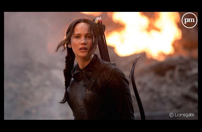 """""""Hunger Games : La Révolte - Partie 1"""" en tête des premières séances"""