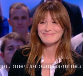 Moment de malaise au 'Grand Journal' lorsque Carla Bruni...