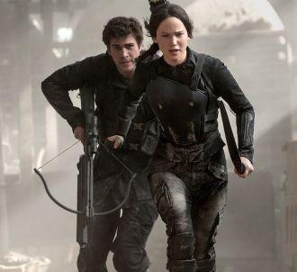Liam Hemsworth et Jennifer Lawrence dans 'Hunger Games 3'